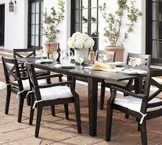 hstead painted extending table chair dining set black