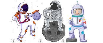 Dekoracje: Astronauta / kosmonauta do sali przedszkola, szkoły, na gazetkę