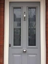 grey front doorTen Best Front Door Colours for your House  Gray eyes Front