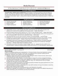 Hospitality Objective Resume 24 Fresh Hospitality Objective Resume Samples Resume Sample 20
