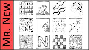 Zentangle Patterns Extraordinary 48 Zentangle Patterns Easy Step By Step Zentangle Tutorial For