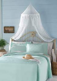 Bed Canopy White Luxury