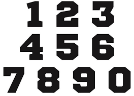 Almost files can be used for commercial. Free Jersey Numbers Svg Free Fonts For Cricut Numbers Font Free Svg
