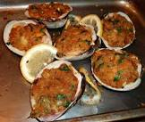 baked stuffed quahogs or clams  rhode island style