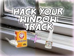 your window track easy quick way to clean