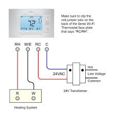 white rodgers thermostat wiring diagram & white rodgers thermostat 4 Wire Thermostat Wiring Diagram at White Rodgers Transformer Wiring Diagram
