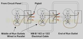 Wiring Outlets And Lights On Same Circuit House Socket Wiring Go Wiring Diagram