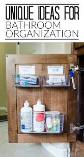 great ideas for maximizing storage in the bathroom cabinet organizationorganized bathroomunder bathroom sink