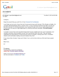 Professional Format For Email Signature Writing Samples Job