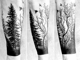 деревья и лес татуировки на руке 60 фото онлайн журнал о тату