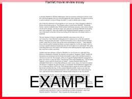example essay in mla format
