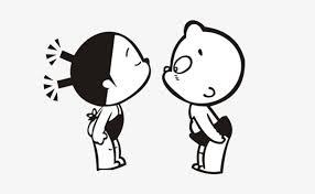無料ダウンロードのための2子どものkiss 可愛い 漫画 清新 Png画像