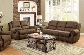 ward collection reclining sofa group in