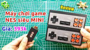 Trên tay Máy Chơi Game Nes Không Dây triệu trò siêu mini giá 393k - YouTube