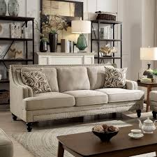 desiree furniture. Furniture Of America Selene Traditional Beige Linen Like Sofa Free Ideas Contemporary Set Desiree