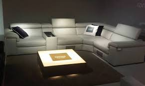 ... Fabio Cinema Sofa 560x334 Man Cave Couch Sofas The Five Must Haves For  Your Gardner White ...