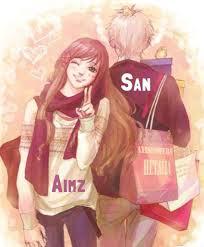 Cartoon Cute Couple Wallpaper For ...