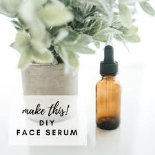 get gorgeous skin with this homemade face serum recipe