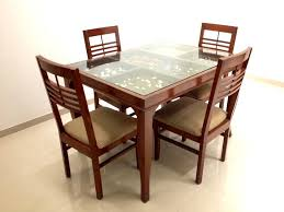 splendid top dining table design elegant wooden dining table with glass top wood regard to idea jpg