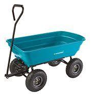 garden cart. Yardworks Dumping Garden Cart