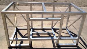 ... diy outdoor kitchen frames 1weldedgrillframe2 e1334612907978