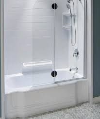Bathroom Remodeling Acrylic Bathtubs And Showers Bath Fitter Classy Shower Remodel Houston Style