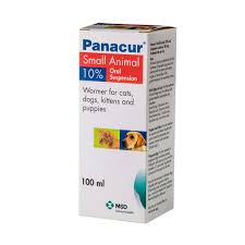 Panacur Small Animal 10 Suspension