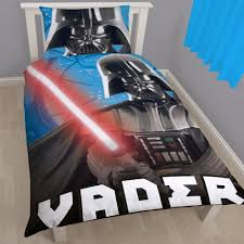 star wars universe darth vader single panel duvet set quilt cover kids bedding