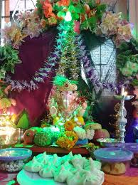 ganesh chaturthi decoration ideas ganesh pooja decor ganpati