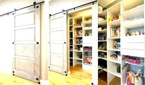 barn door style closet doors kitchen pantry sliding bathrooms ideas for