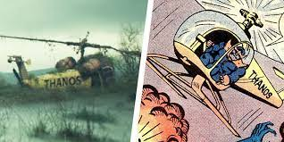 the Thanos Copter in Loki Episode 5 ...