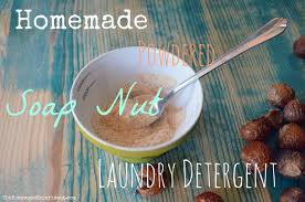 How To Use Powdered Soap Nuts For Homemade Natural Laundry Detergent