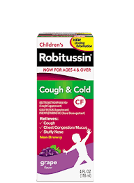 Childrens Robitussin Cough And Cold Cf Generic