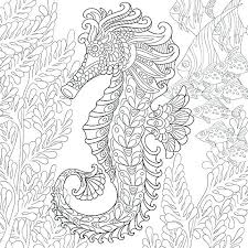 Mermaid Coloring Pages For Adults Printable
