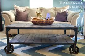 furniture diy industrial coffee table ideas high resolution diy pallet coffee table on wheels