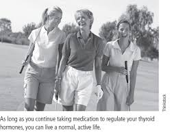 some people in this group do eventually bee hypothyroid many years down the road so it is important to schedule check ups at least once a year