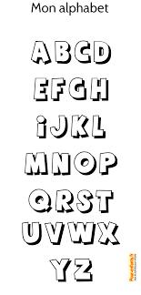 17 Dessins De Coloriage Alphabet Imprimer Imprimer