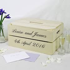 How To Decorate A Wedding Post Box personalised wedding post box crate by plantabox 44