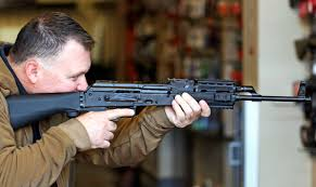 A gunstock that can be fitted to a rifle to allow it to fire like an automatic firearm   meaning, pronunciation, translations and examples. Bump Stock Ban Passes In Washington State Senate