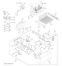 Diagram position wiring ge model gsh22jstess side by side refrigerator genuine parts