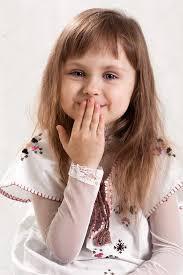 Cute Small Princess Enjoys Herself  Stock Photo  ColourboxCute Small Girl
