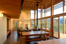 Small Picture Modern cabin Rustic Dining Room Seattle by Johnston Architects