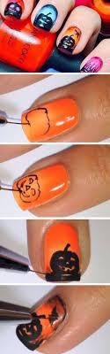 25+ gorgeous Pumpkin nail art ideas on Pinterest | Fall nail art ...