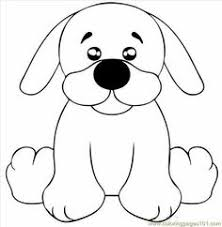 Small Picture Puppy Dog Doodle Coloring Page Coloring ClipArt Best
