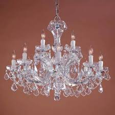 crystorama lighting group maria theresa two tier crystal chandelier