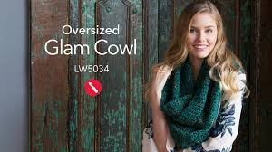 Redheart Free Crochet Patterns Awesome Oversized Glam Cowl Free Crochet Pattern In Red Heart Boutique Gleam