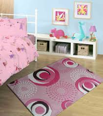 bedroom area rugs. Pink Kids Bedroom Area Rug With Circles Design Rugs O