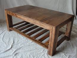 wooden coffee table plans ideas
