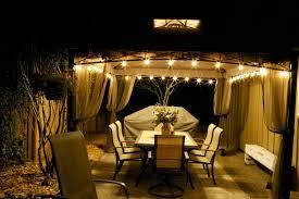 outdoor gazebo chandelier lighting