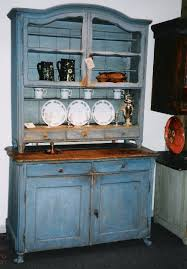 kitchen furniture hutch. kitchen hutch blue rococo cupboards and roses via atticmag furniture s